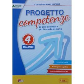 PROGETTO COMPETENZE ITALIANO CLASSE 4