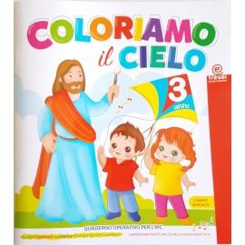 COLORIAMO IL CIELO 3 ANNI