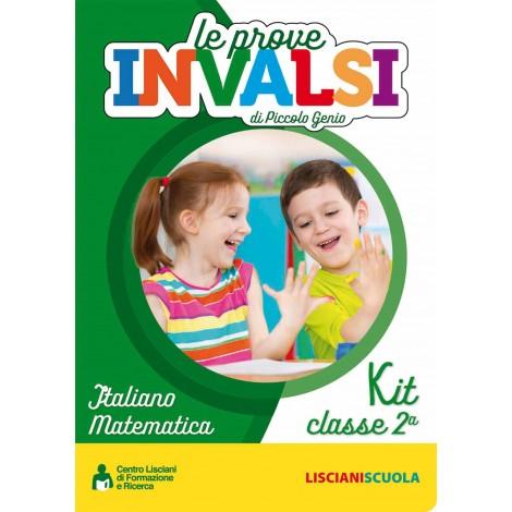 KIT LE PROVE INVALSI DI PICCOLO GENIO CL.2