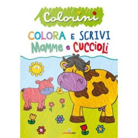 COLORINI-COLORA E SCRIVI
