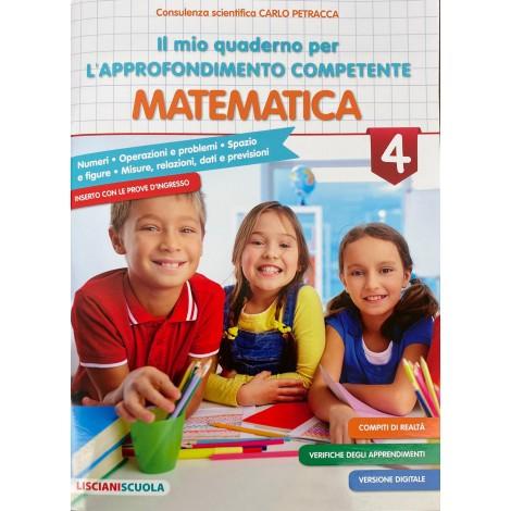 il mio quaderno per l approfondimento competente matematica cl.4