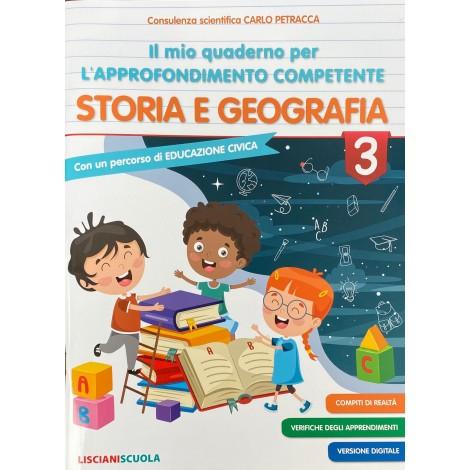 Il mio quaderno per l approfondimento competente storia e geografia cl.3