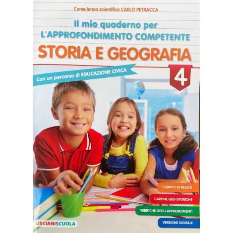 Il mio quaderno per l approfondimento competente storia e geografia cl.4