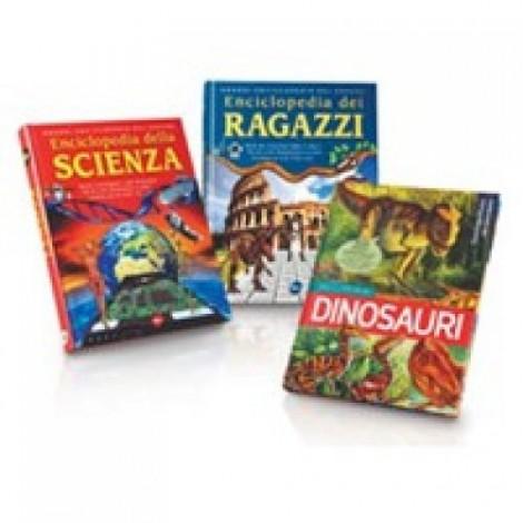 Enciclopedia dei ragazzi,Enciclopedia della storia,Enciclopedia della scienza.